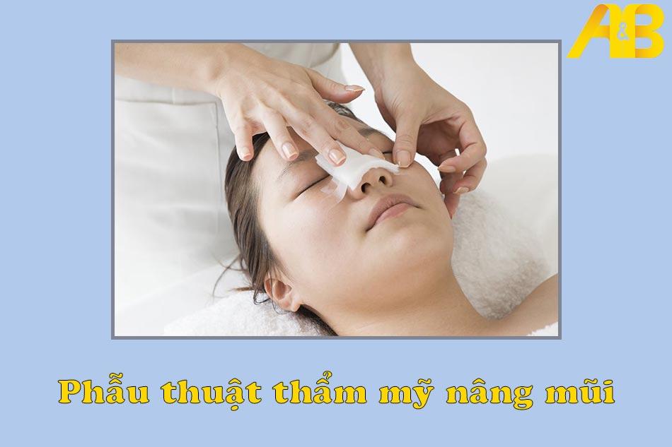 Các phương pháp phẫu thuật nâng mũi