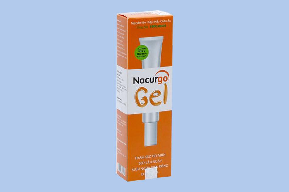Kem trị sẹo rỗ hiệu quả Nacurgo Gel