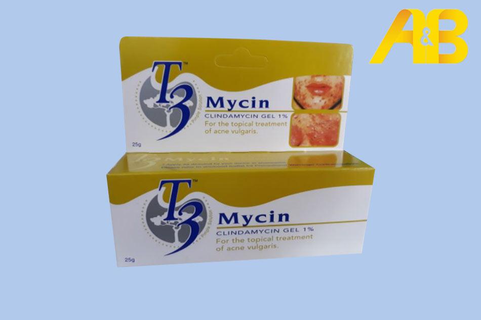 Gel trị mụn T3 Mycin - trị mụn trứng cá hiệu quả
