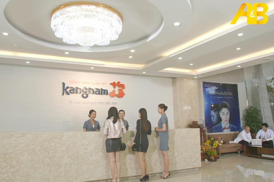 Dịch vụ của Thẩm mỹ Kangnam chất lượng hàng đầu