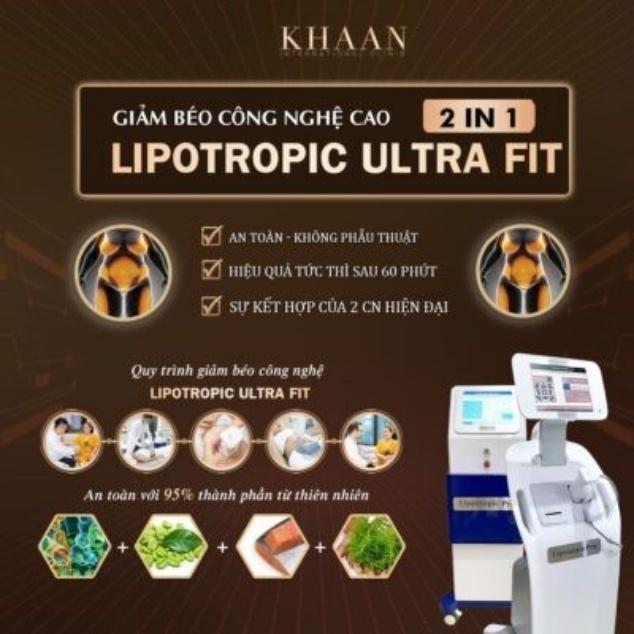Công nghệ Lipotropic Ultra Fit