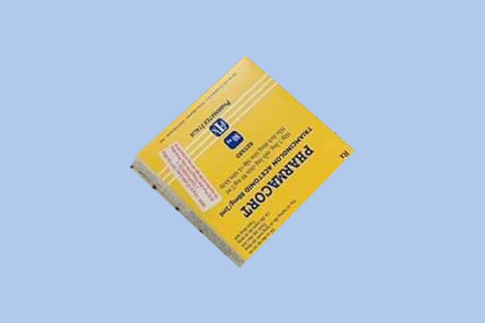 Pharmacort bào chế dạng dung dịch tiêm