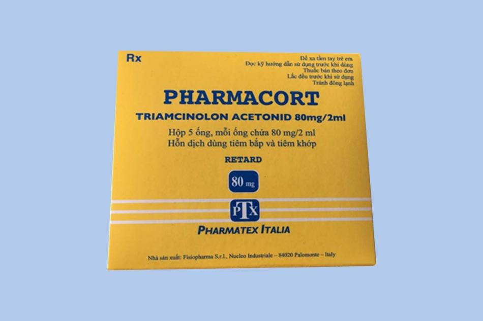 Hình ảnh hộp thuốc Pharmacort