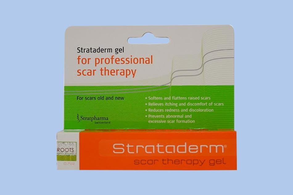 Hình ảnh hộp kem trị sẹo Strataderm