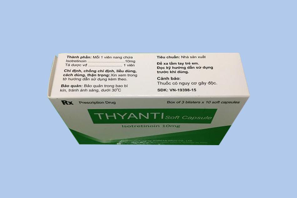 Thuốc Thyanti - điều trị mụn trứng cá