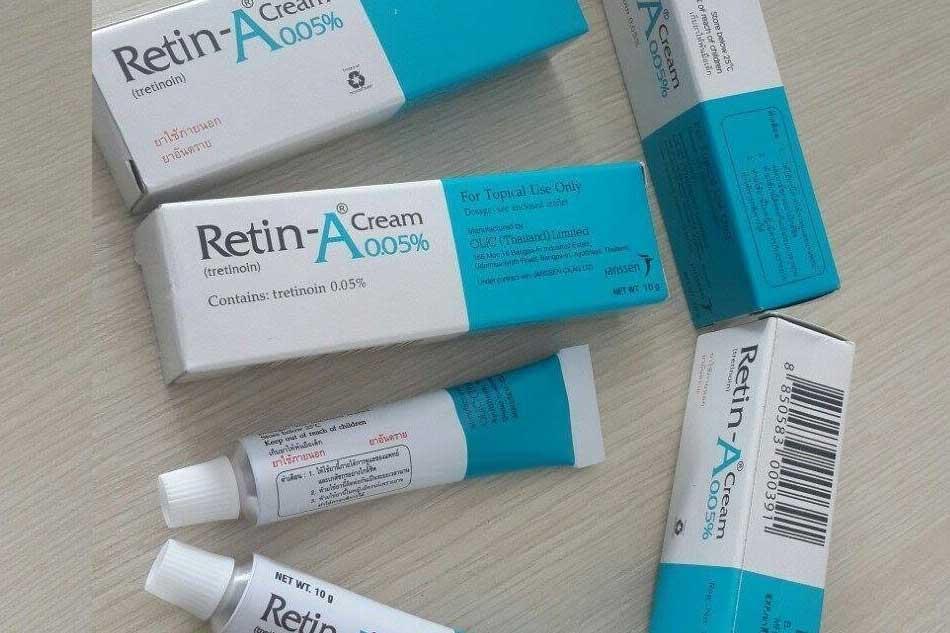 Kem điều trị mụn ẩn dưới da RETIN A Thái Lan