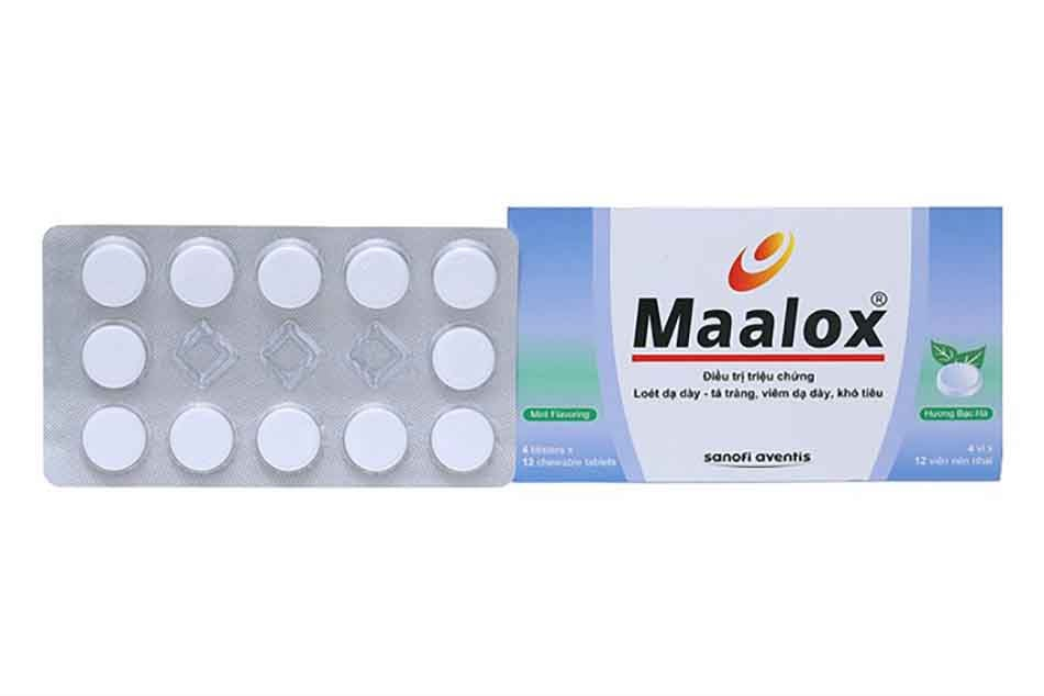 Thuốc Maalox của hãng Sanofi đang được bán tại Trung Tâm Thuốc