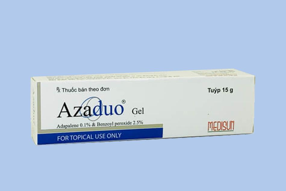 Azaduo Gel giúp điều trị mụn trứng cá, mụn mủ
