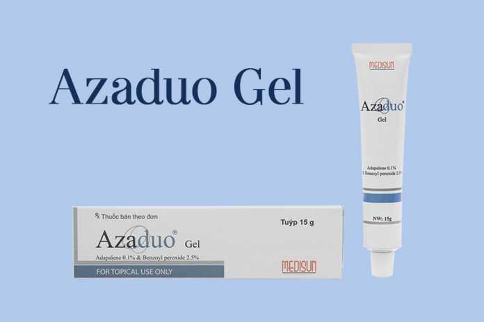 Azaduo Gel giúp điều trị mụn hiệu quả