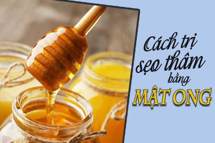 Tác dụng của mật ong trong quá trình trị sẹo thâm
